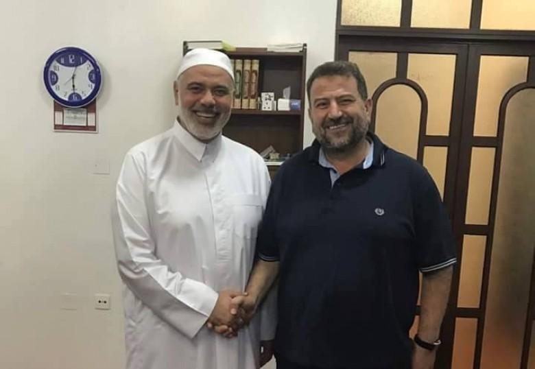 العاروري يهاتف هنية لإطلاعه على مباحثات القاهرة اليوم
