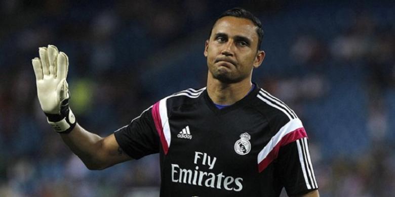 """نافاس """"يتحدى"""" كورتوا: أموت ولا أرحل عن ريال مدريد"""