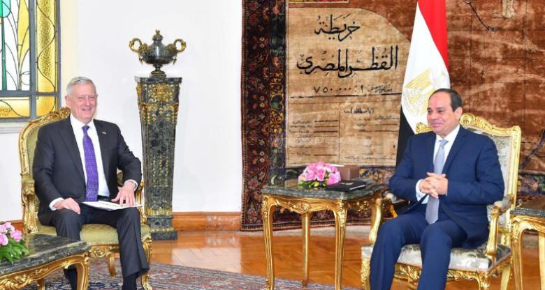 واشنطن تدعم جهود مصر لمكافحة الإرهاب