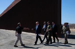 ترمب يزور مشروع بناء الجدار الحدودي الجديد بين أمريكا والمكسيك