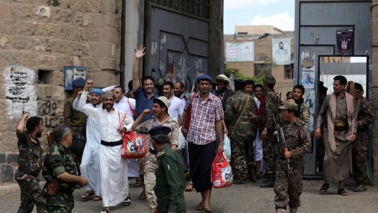 إطلاق سراح 200 أسير من ميليشيات الحوثي