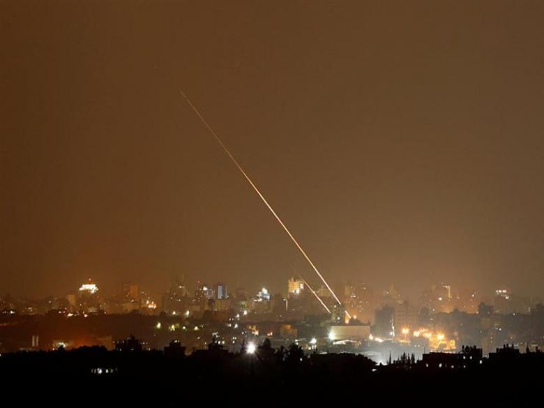 """إطلاق صاروخين من غزة باتجاه """"تل أبيب"""""""