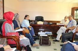 """""""الخدمة العامة"""" تستقبل وفداً من الهيئة الطبية الدولية بغزة"""