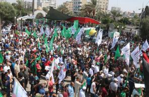 مسيرات بغزة نصرة للأقصى