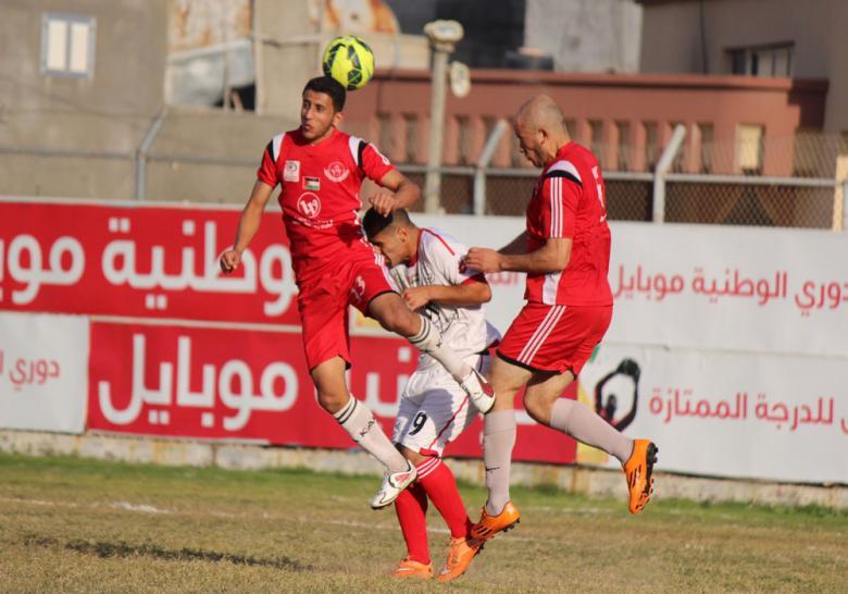 5 مباريات تقام اليوم بدوري غزة