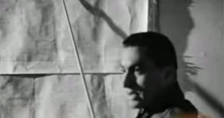 """حسنى مبارك ممثلًا فى فيلم """"وداع فى الفجر"""""""