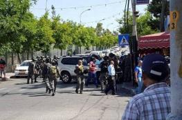 محاولة دهس جنود شرقي القدس