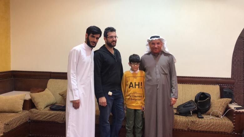والد السعودي المختطف منذ 20 عاماً: غدا أرى ابني أول مرة
