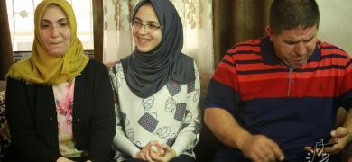فلسطين الآن ترصد فرحة الأولى على الوطن بالفرع العلمي ألاء عبد العاطي