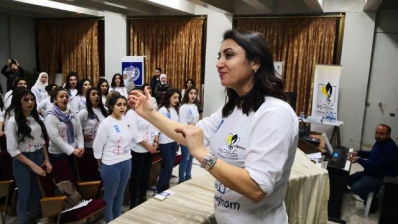 الحرب السورية.. موسيقيات سوريات يلجأن للأغاني لعلاج آثار الحرب في دمشق
