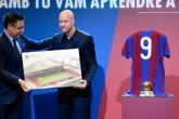 برشلونة يكرم كرويف بملعب وتمثال