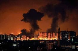 الاحتلال يواصل قصف عدة مناطق بقطاع غزة