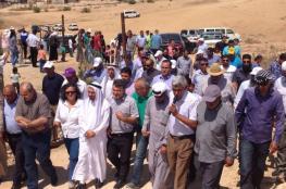 تظاهرة بالنقب ضد قرار تهجير باللطرون اليوم