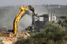 الاحتلال يشرع بعمليات تجريف في محيط حاجز جبارة جنوب طولكرم