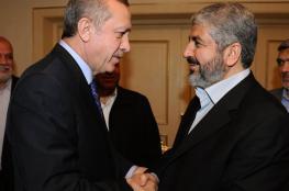 مشعل يهنئ أردوغان بنجاح الاستفتاء