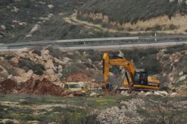 الاحتلال يستولي على أراض شرق بيت لحم