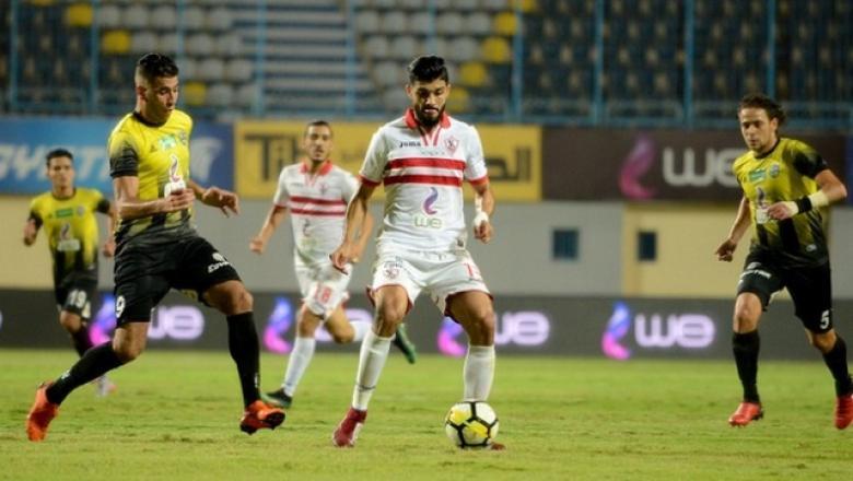 الزمالك يتعثر أمام المقاولون العرب في مباراة مثيرة