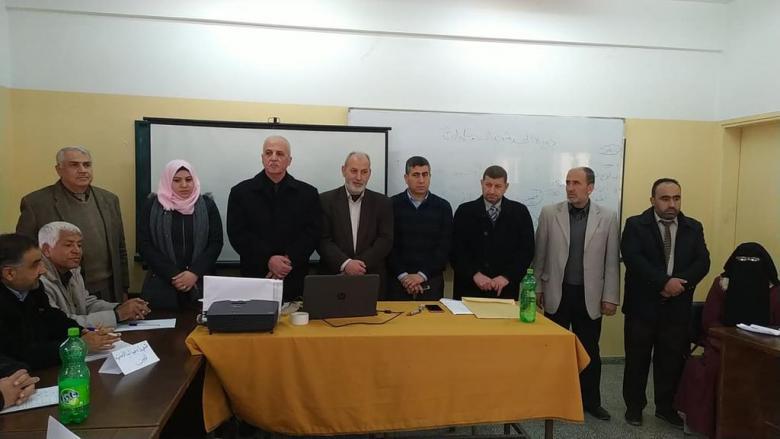 تعليم شمال غزة يختتم دورة تدريبية للجان الطوارئ في المدارس