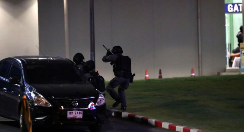 مقتل الشخص الذي أطلق النار عشوائيا في تايلاند