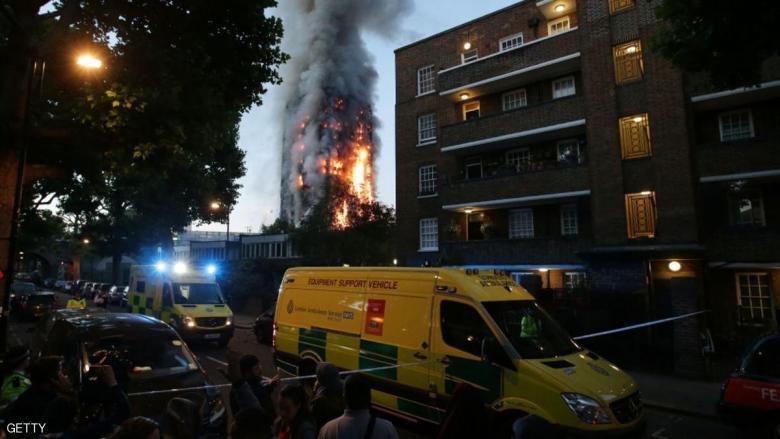 حريق لندن.. كيف أنقذ المسلمون سكان البرج من كارثة محققة؟