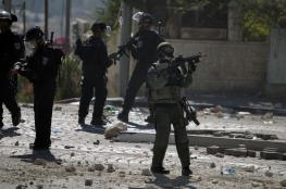 8 إصابات بمواجهات مع الاحتلال جنوب الخليل