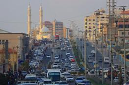 حالة الطرق بغزة صباح اليوم الثلاثاء