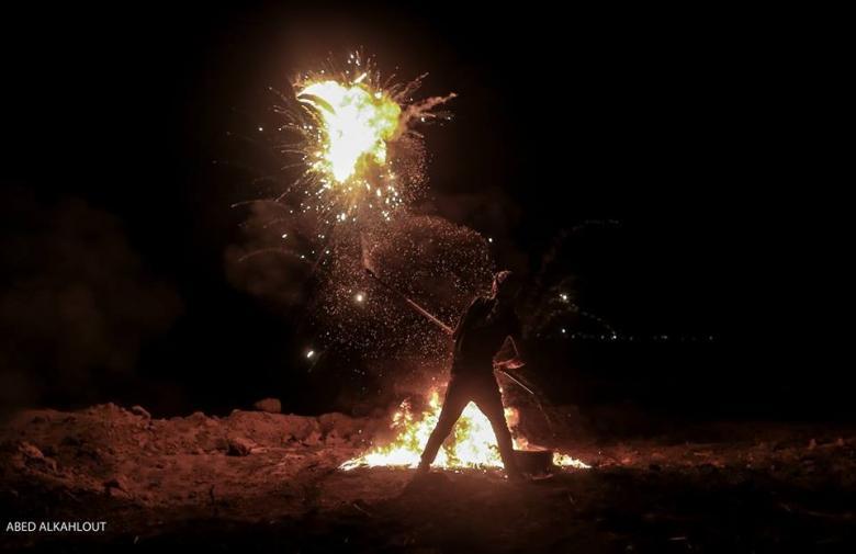 شهيد و 20 إصابة بقصف إسرائيلي لمواطنين شرق غزة