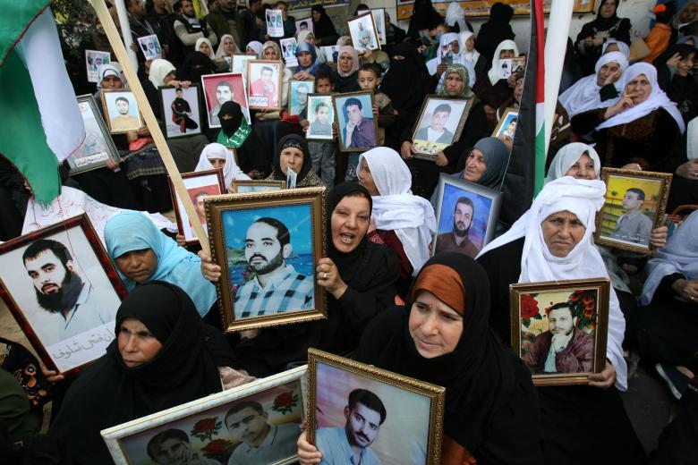 اعتصام رسمي وشعبي تضامنا مع الأسرى في طولكرم