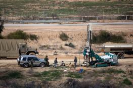 الاحتلال يهدّد: الجدار مع غزة سيقام بحرب أو بدونها