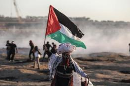 63 إصابة خلال قمع الاحتلال للمشاركين في مسيرات العودة