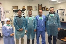 هكذا انتهى ألم زين في مجمع فلسطين الطبي