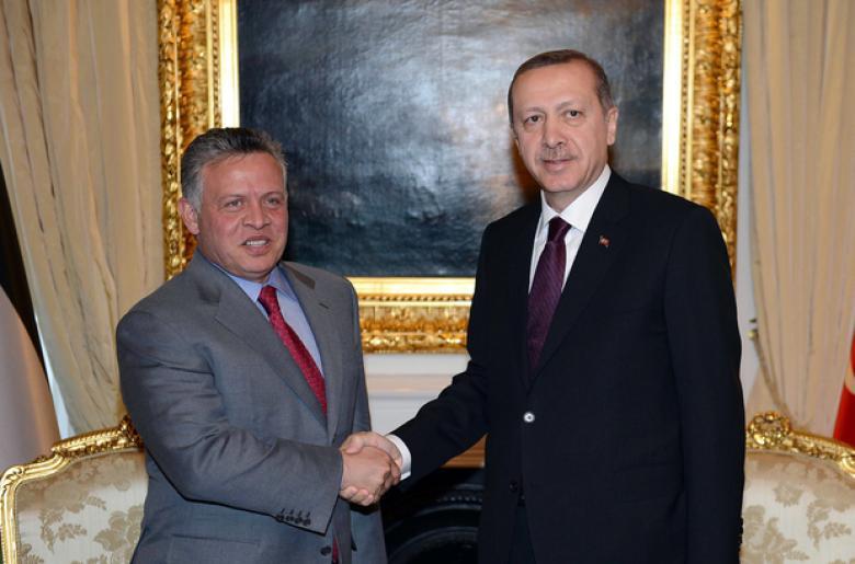 أردوغان والعاهل الأردني يؤكدان رفضهما للمساس بوضع القدس