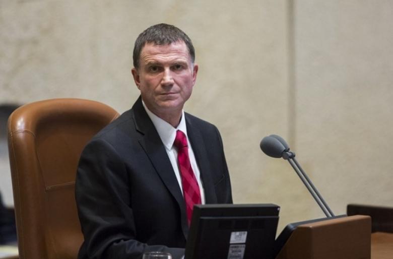 رئيس الكنيست يُقدم استقالته من منصبه