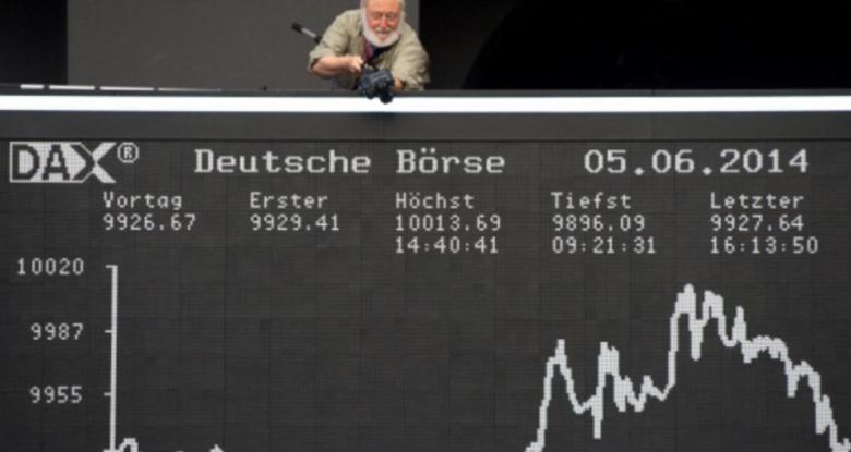 ترمب يهبط بالأسهم الأوروبية