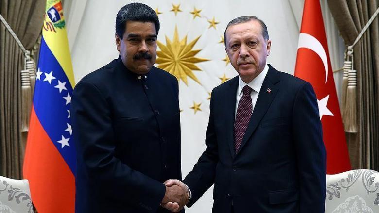 أردوغان يهنئ نظيره الفنزويلي على سلامته عقب محاولة الاغتيال الفاشلة