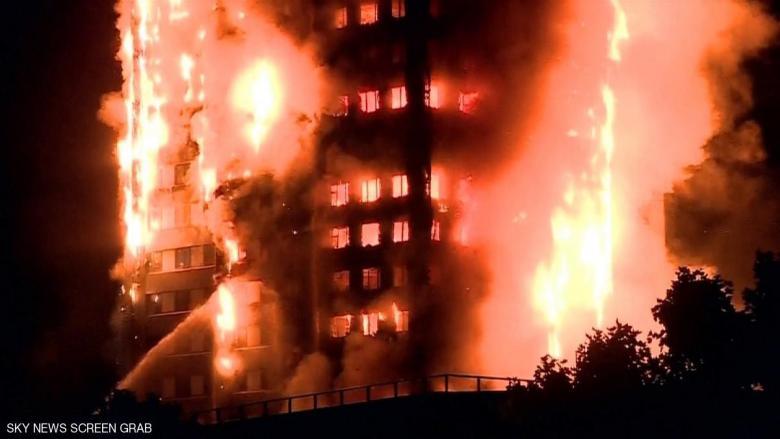 """لندن.. تفاصيل """"حريق هائل"""" أيقظ مدينة الضباب"""