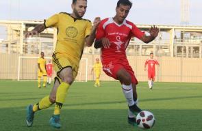 مباراة خدمات النصيرات وخدمات المغازي في دوري الدرجة الأولى