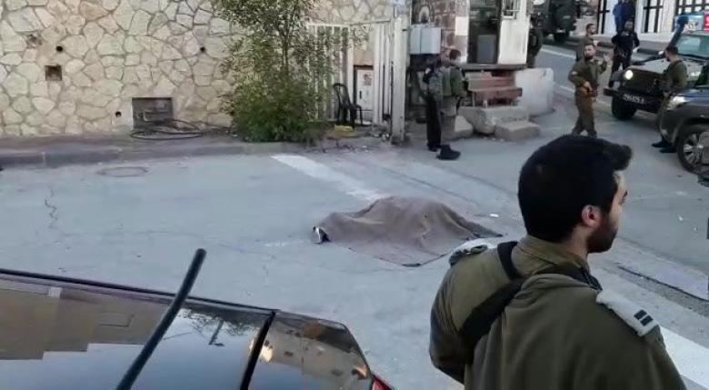 الاحتلال يطلق النار على مواطن في الخليل بزعم تنفيذه لعملية طعن