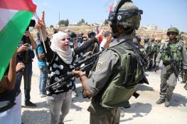 الاحتلال يقمع مسيرة بلعين الأسبوعية