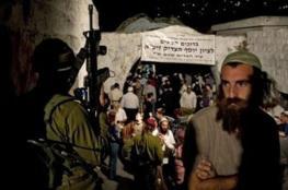 """مستوطنون يقتحمون """"قبر يوسف"""" شرق نابلس"""