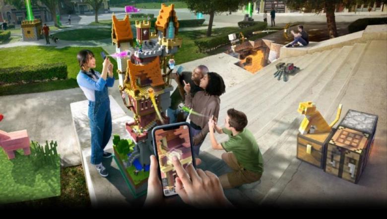 مستلهمة نجاح بوكيمون غو.. مايكروسوفت تطرح لعبة ماينكرافت إيرث