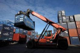 ارتفاع الصادرات السلعية وانخفاض طفيف في الواردات لشهر آذار