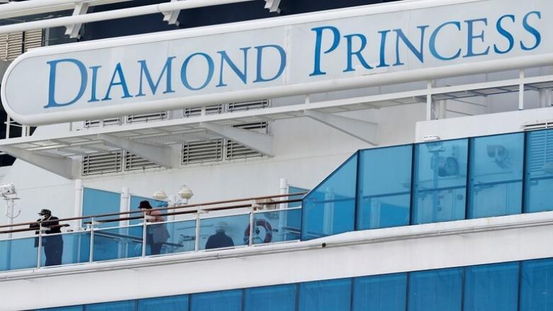 """اليابان تعلن ثالث حالة وفاة بسبب """"كورونا"""" على متن سفينة """"دايموند برنسيس"""""""