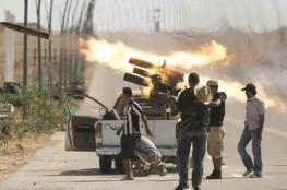 """حرب شوارع بجنوب غربي طرابلس بين قوات """"الوفاق"""" وقوات حفتر"""
