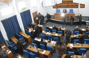 جلسة التشريعي لمناقشة نزع الأهلية السياسية عن رئيس السلطة محمود عباس