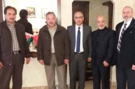 وفد من نواب التشريعي يلتقي السفير المغربي في رام الله