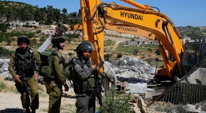 الاحتلال يهدم غرفتين زراعيتين جنوب بيت لحم