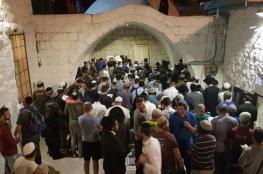 51 إصابة خلال اقتحام مئات المستوطنين قبر يوسف بنابلس