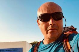 فنان تونسي يقطع 3 آلاف كيلو متر سيرا على الأقدام من فرنسا إلى بلاده
