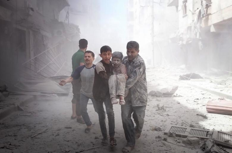 إحصائية: 13 ألف برميل متفجر فتكت بالسوريين في 2016